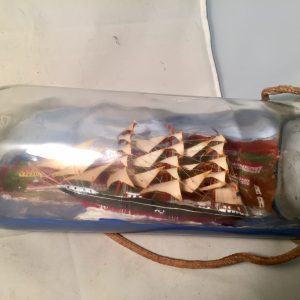large ship in a bottle