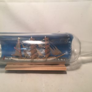 german ship in a bottle antique
