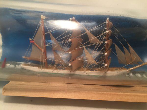 german ship in a bottle antique