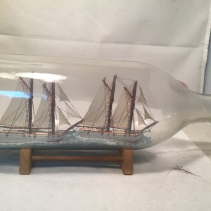 sailboats in a bottle