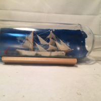 german ship in a bottle