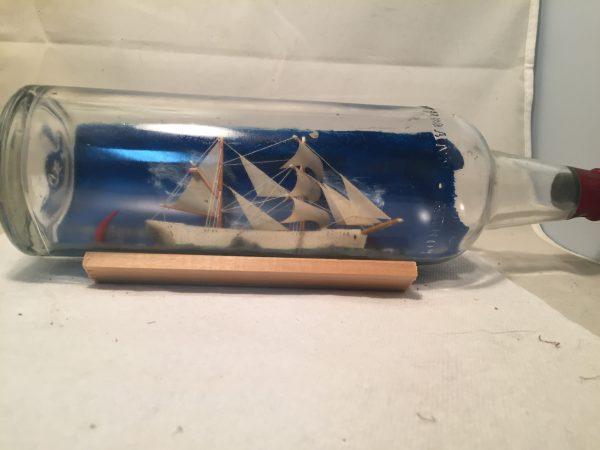 german ship in a bottle