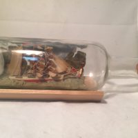 POW ship in a bottle