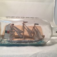 Mantez Ship in a bottle