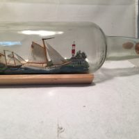 Sloop in a bottle