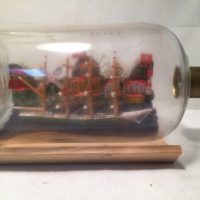 Nazi Ship In a bottle