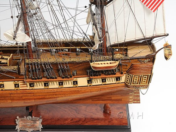 Item: T012 - USS Constitution Exclusive Edition Tall ship model Nautical decor