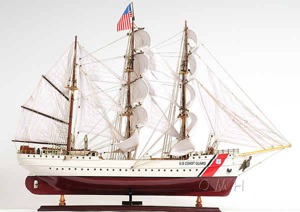 US. Coast Guard Eagle E.E. model ship