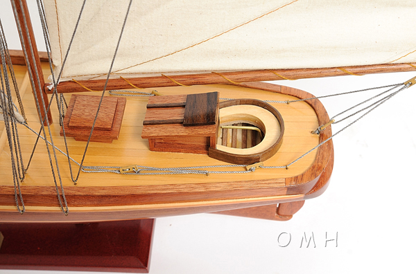 America Model Sailboat