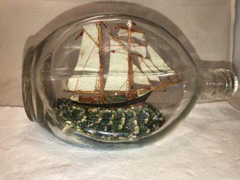 Dual masted schooner
