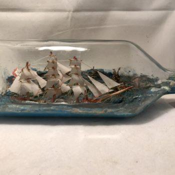 Austrailian Ship in a bottle diorama