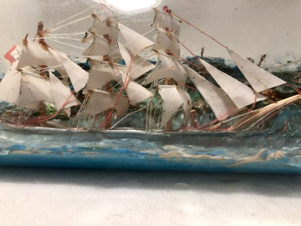 diorama ship in a bottle