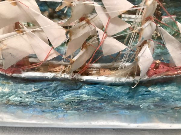 diorama ship in a bottle