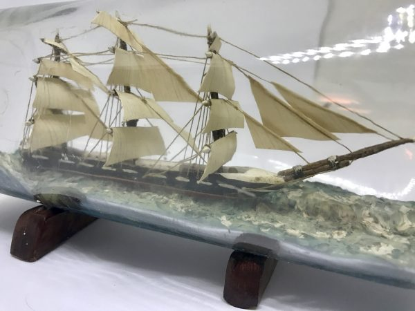 england ship in a bottle