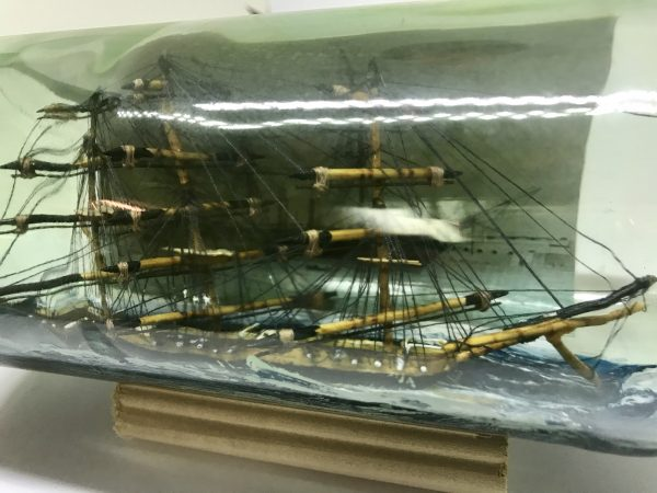 Andromeda Antique ship in a bottle