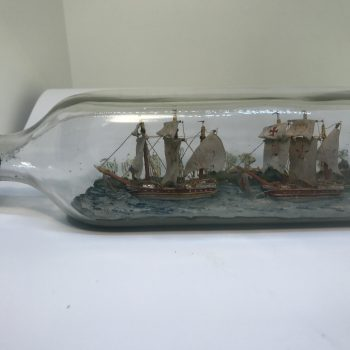 Old Caravel Class Ship(s) in bottle