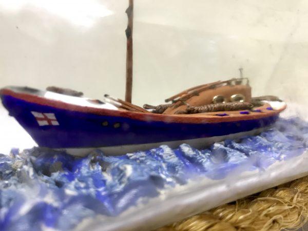 Life boat in a bottle