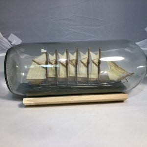 USS Wyoming Ship in a bottle
