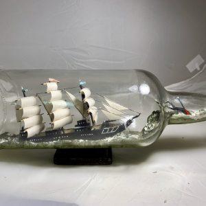 Nantucket Whaler in Scotch bottle #2