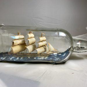 HMS BOUNTY Museum ship in bottle