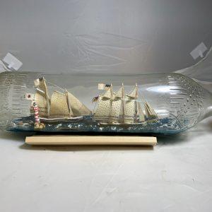 2 schooners in a bottle