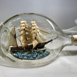 Beautiful Tri Masted Barque