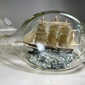 The HESPERRUS Ship in a pinch bottle