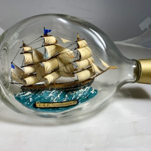 Old Ironsides in a pinch bottle