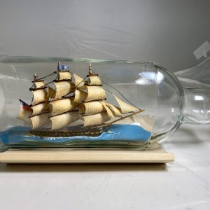 USS CONSTITUTION, OLD IRONSIDES ship in bottle