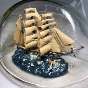 Museum Quality Very old 3 masted Barque