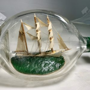 Beautiful OLD tri masted Barque